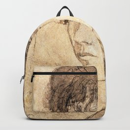 Gwen John - Head of a Woman - Digital Remastered Edition Backpack