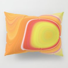 Kinky Sablo Lio ~ Orange & Lime Green Pillow Sham