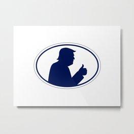 Trump Logo Metal Print