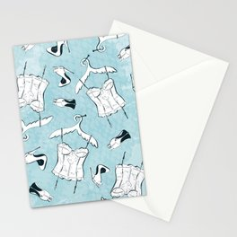 White Nighties Stationery Cards