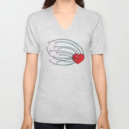 Love Feeds Love Unisex V-Neck