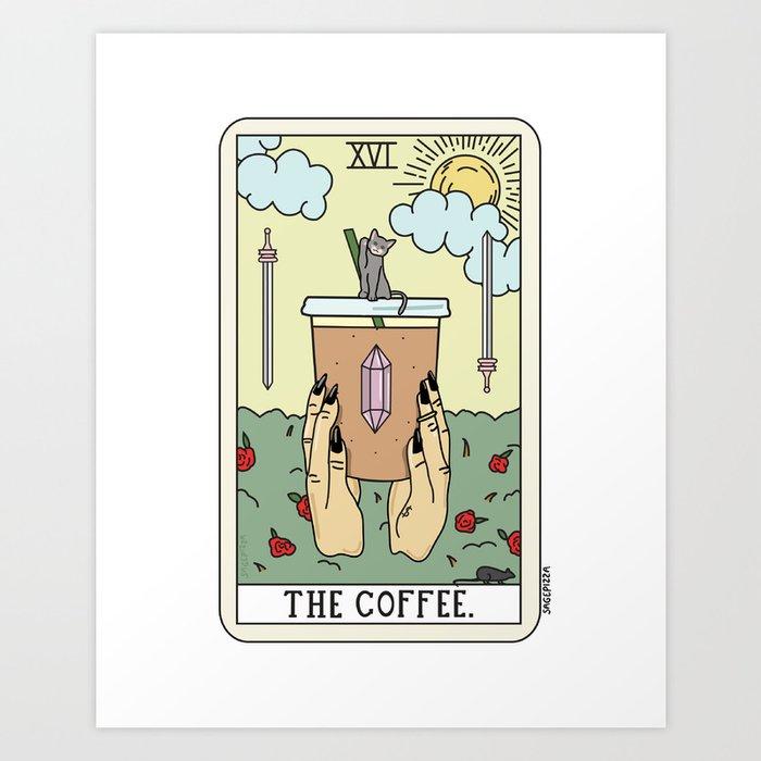COFFEE READING Kunstdrucke