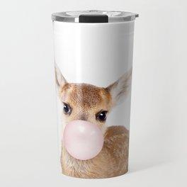 Bubble Gum Baby Deer Travel Mug