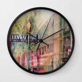 World Series 2013 Fenway Park - Red Sox  Wall Clock