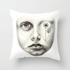 Never been here, how about you? Throw Pillow