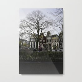 Amsterdam Bicycle Club Metal Print