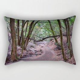 down to the bridge Rectangular Pillow