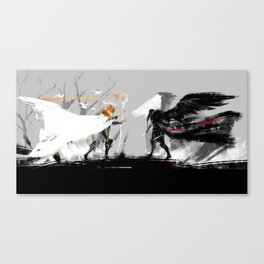 Vax and Keyleth Canvas Print