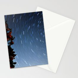 Starry Circle Stationery Cards