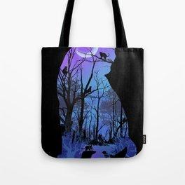 CAT MOON Tote Bag