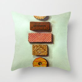 Confection's dream Throw Pillow