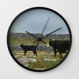 Cows in Ireland Wall Clock
