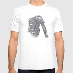 Anatomy 2 Mens Fitted Tee MEDIUM White