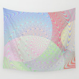 Re-Created Twisters No. 2 by Robert S. Lee Wall Tapestry