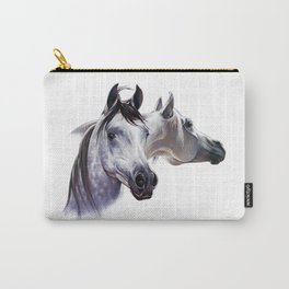 Arabian Horse Pair Carry-All Pouch