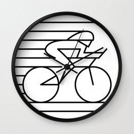 Road Biker Wall Clock