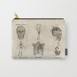 Anatomy lessons Carry-All Pouch