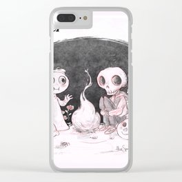 things are not as they seem Clear iPhone Case