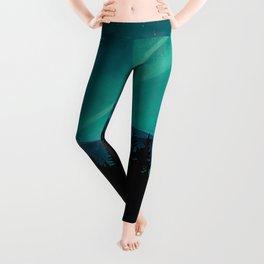 Magic in the Woods - Turquoise Leggings