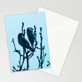 The little birds Stationery Cards