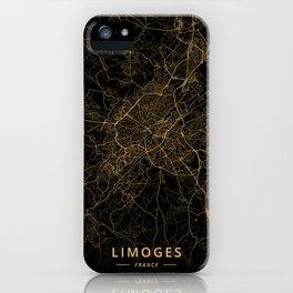 Limoges, France - Gold iPhone Case