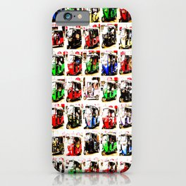 Sri Lankan Tuc Tuc Collage iPhone Case