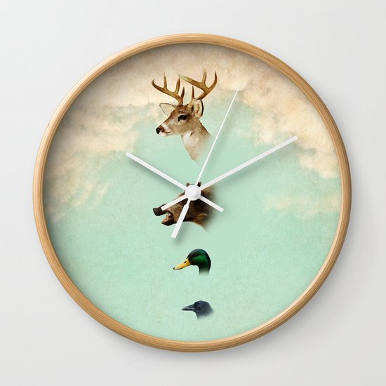 beauty not for sale Wall Clock
