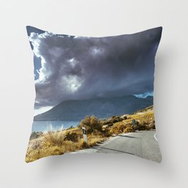 Sky fall Throw Pillow