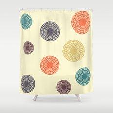 Circles - 7 Shower Curtain