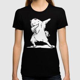 Funny Dabbing Samoyed Dog Dab Dance T-shirt