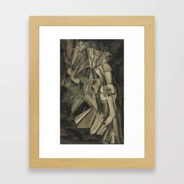 Marcel Duchamp - Nude Descending a Staircase, No. 2 Framed Art Print