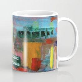 Amanda - Abstract oil pattern Coffee Mug