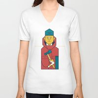 fargo V-neck T-shirts featuring Fargo by Ale Giorgini