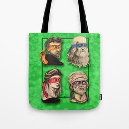Renaissance Mutant Ninja Artists Tote Bag