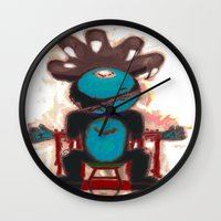 game of thrones Wall Clocks featuring Game Of Cats ! 2 by Davoncornchip