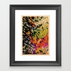 AQUART / PATTERN SERIES 007 Framed Art Print