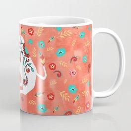 Boho Zodiac Sign- Taurus Astrology Watercolor Illustration Coffee Mug