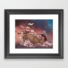 Dooomed Framed Art Print