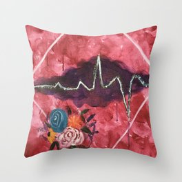Cardiac Arrangement Throw Pillow