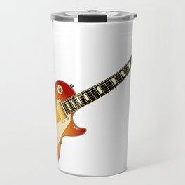 Cherry Sunburst Guitar Travel Mug