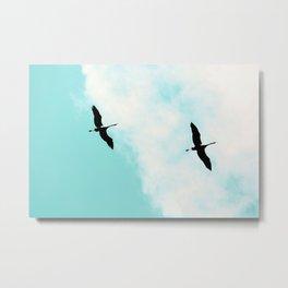 Crane(s) V Metal Print