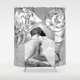 The constellation erotique 2750 Shower Curtain