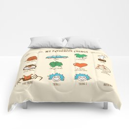 A Few Of My Favourite Things Comforters