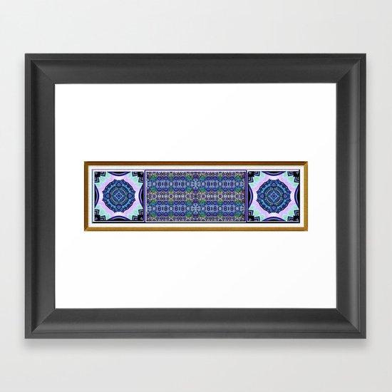 Deco Garden Framed Art Print