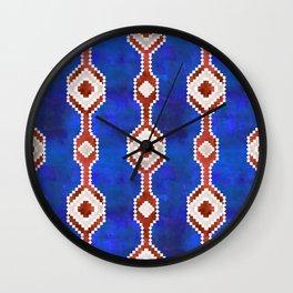 Boho Basic Eye {RWB} Wall Clock