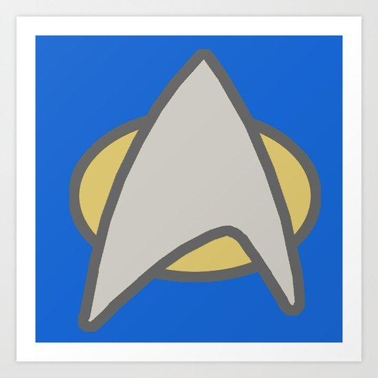 Star Trek, Communicator, 2 Art Print