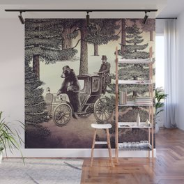 Two Gentlemen in the Forest Wall Mural