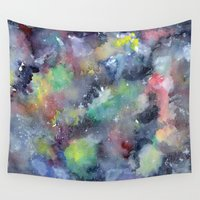 universe Wall Tapestries featuring Universe by Serra Kiziltas