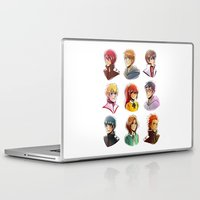 iwatobi Laptop & iPad Skins featuring Free! by AndytheLemon