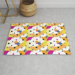 Colorful Geometric Pattern #10 Rug